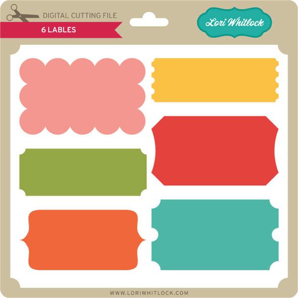 6 Labels
