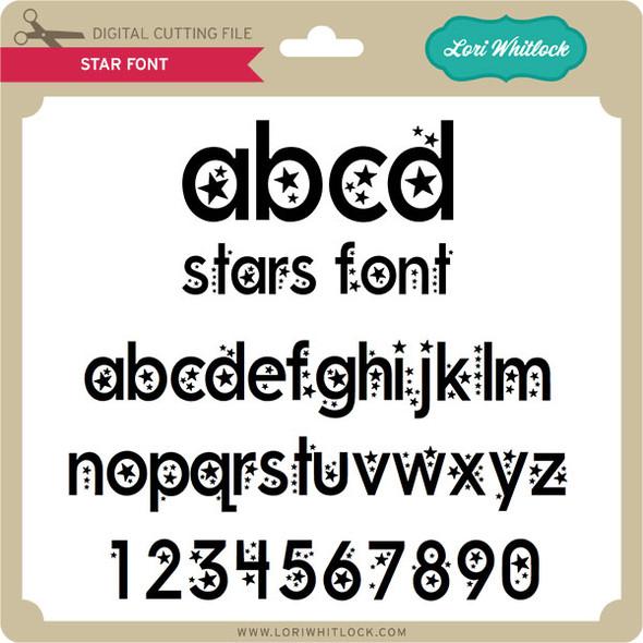 Stars Font