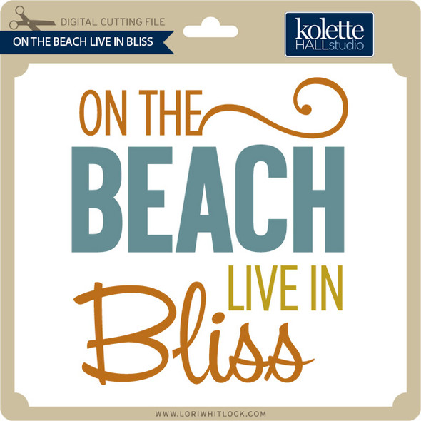 On The Beach Live In Bliss