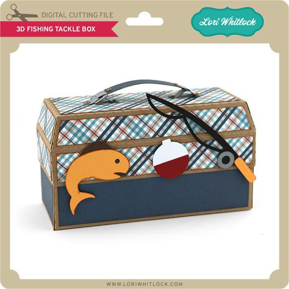3D Fishing Tackle Box