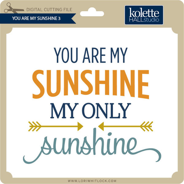 You Are My Sunshine 3