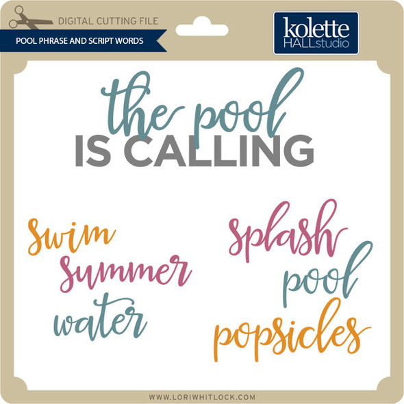 Pool Phrase and Script Words