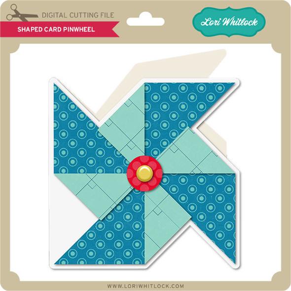 Shaped Card Pinwheel