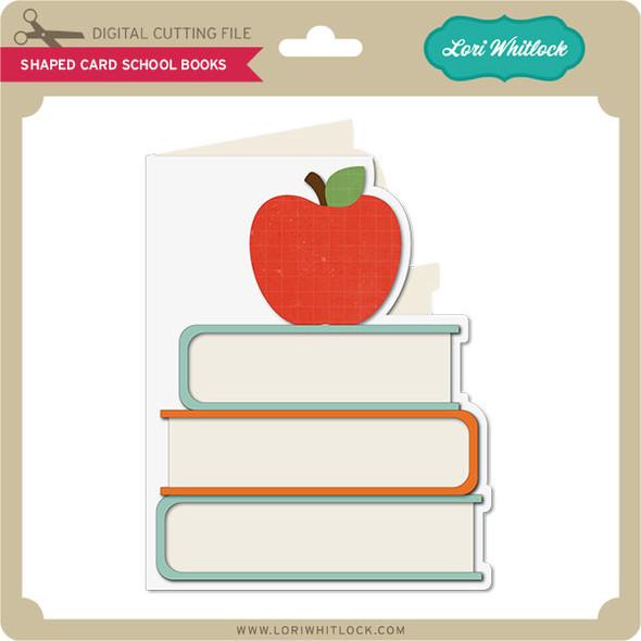 Shaped Card School Books