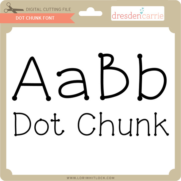 Dot Chunk Font