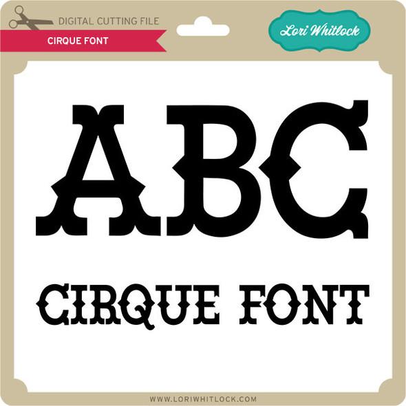 Cirque Font