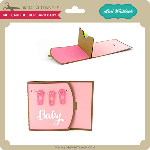Gift Card Holder Card Baby