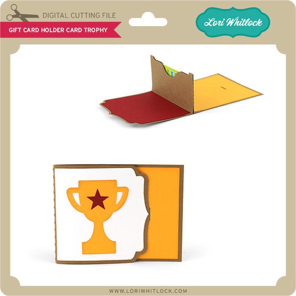 Gift Card Holder Card Trophy