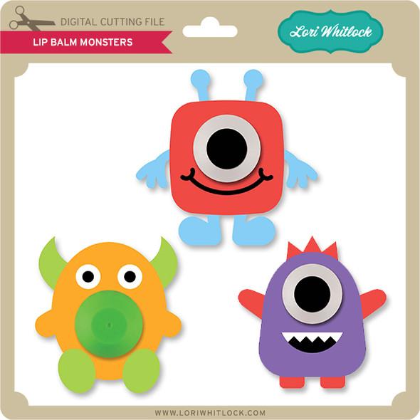 Lip Balm Monsters