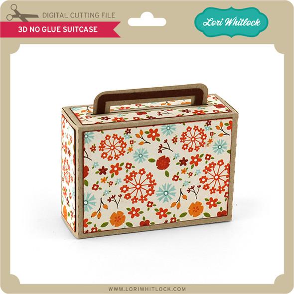 3D No Glue Suitcase