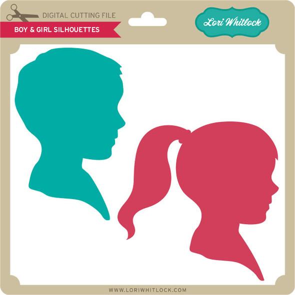 Boy & Girl Silhouettes