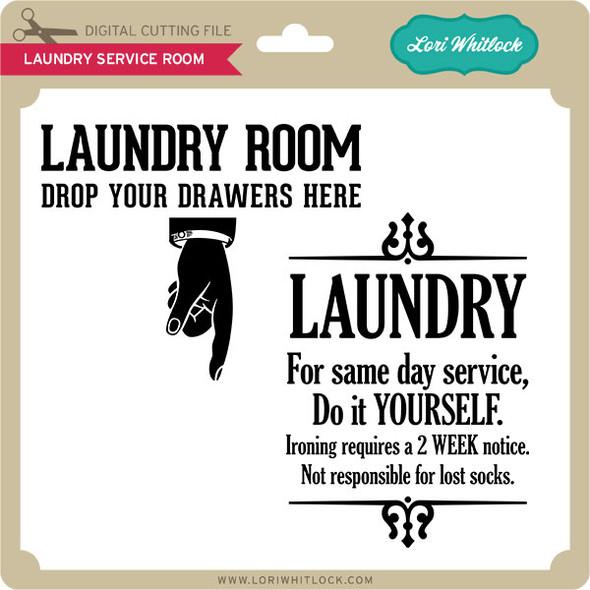 Laundry Service Room