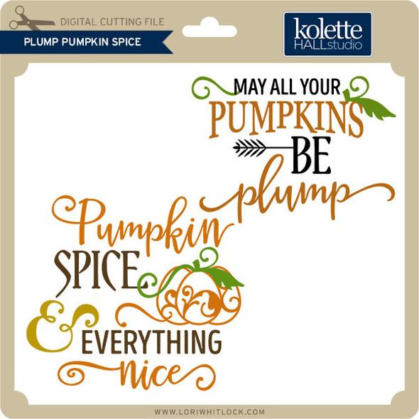 Plump Pumpkin Spice