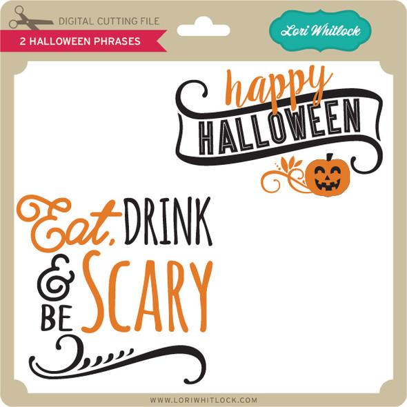 2 Halloween Phrases