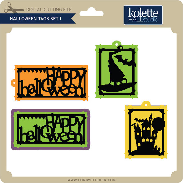 Halloween Tags Set 1