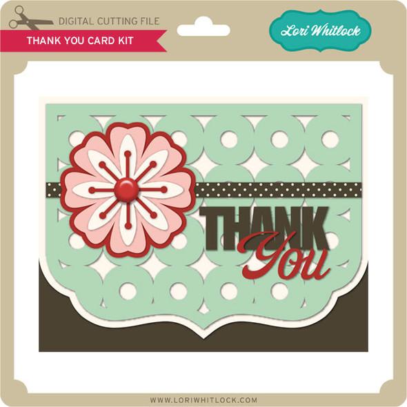 Thank You Card Kit