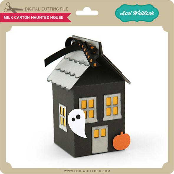 Milk Carton Haunted House