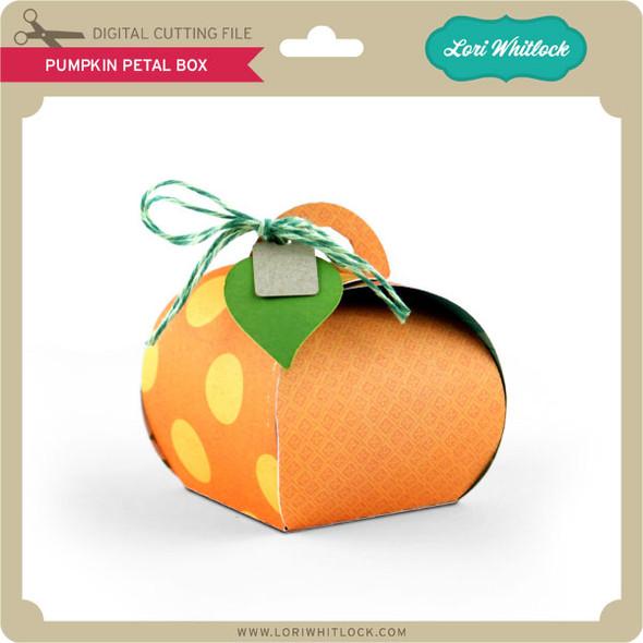 Pumpkin Petal Box