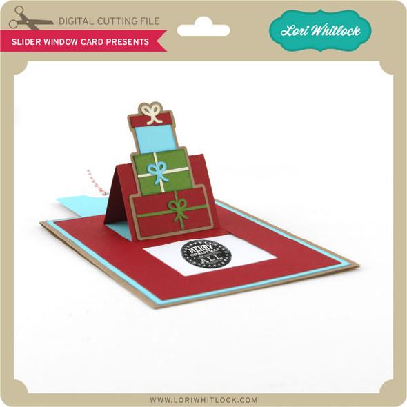 Slider Window Card Presents