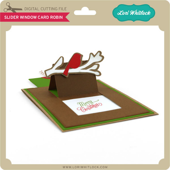 Slider Window Card Robin