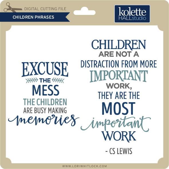 Children Phrases