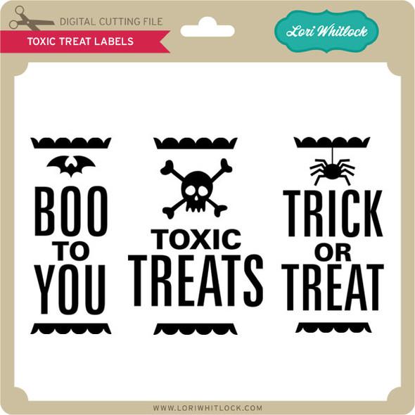Toxic Treat Labels