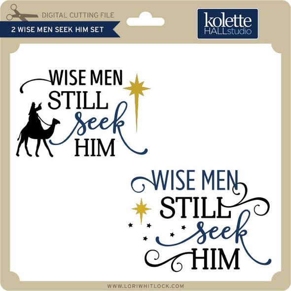 2 Wise Men Seek Him Set