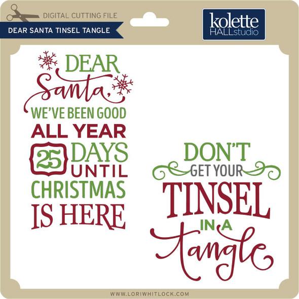 Dear Santa Tinsel Tangle