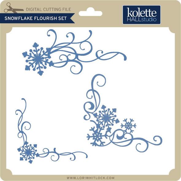 Snowflake Flourish Set