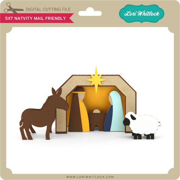 5x7 Nativity Mail Friendly