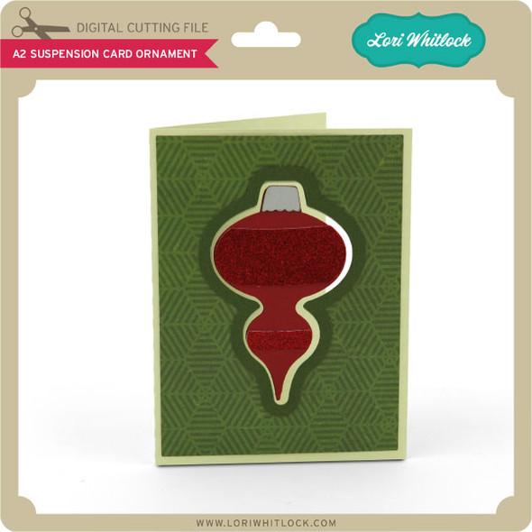 A2 Suspension Card Ornament
