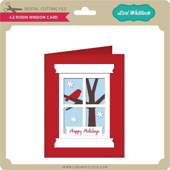 A2 Robin Window Card