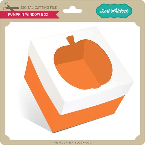 Pumpkin Window Box