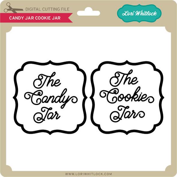 Candy Jar Cookie Jar