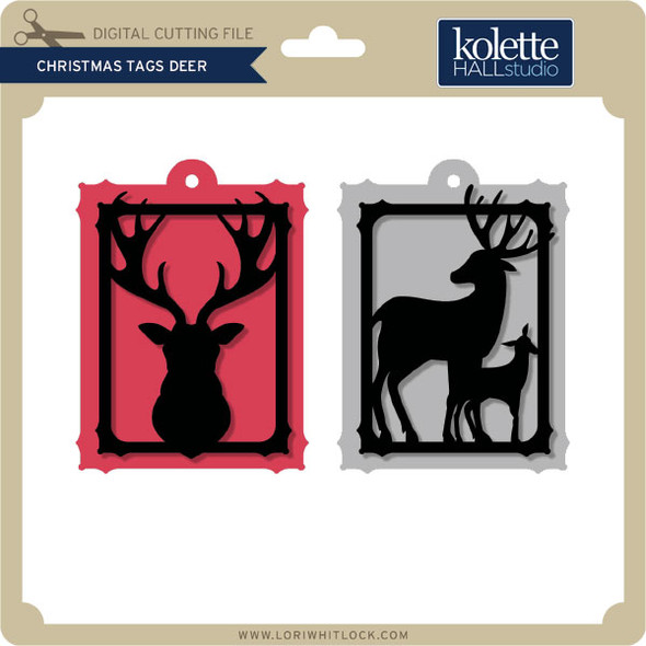 Christmas Tags Deer