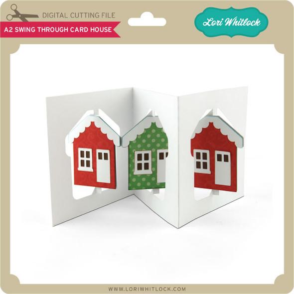 A2 Swing Through Card House