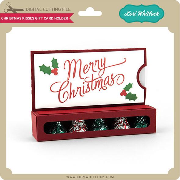 Christmas Kisses Gift Card Holder
