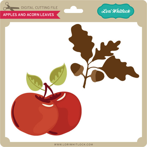 Apples and Acorn Leaves