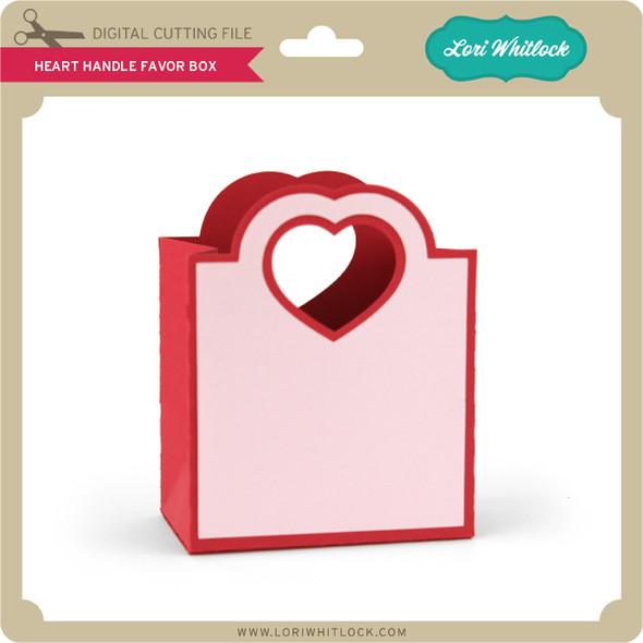 Heart Handle Favor Box