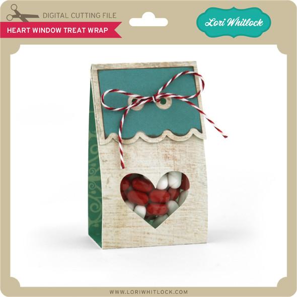 Heart Window Treat Wrap