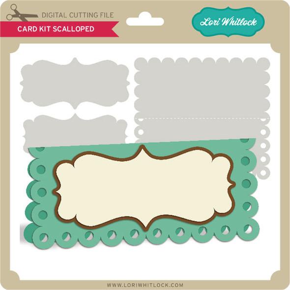 Card Kit Scalloped