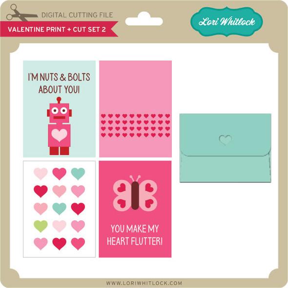 Valentine Print + Cut Set 2