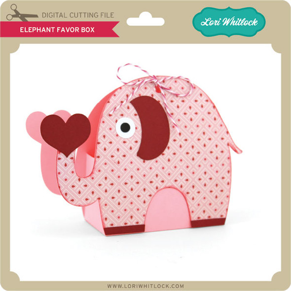 Elephant Favor Box