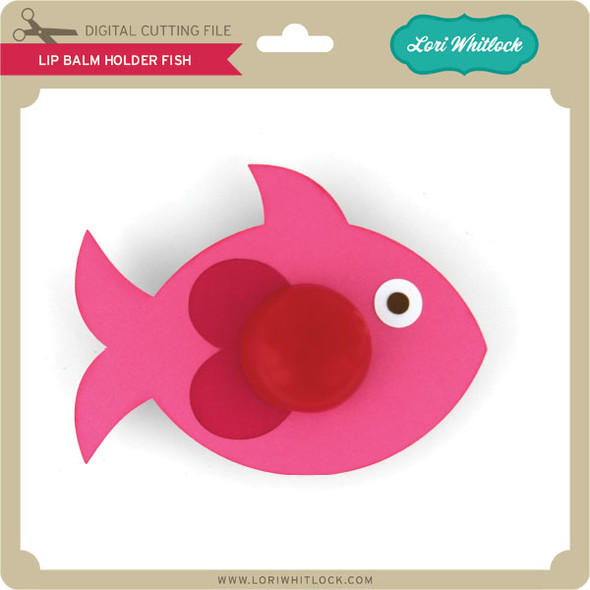 Lip Balm Holder Fish