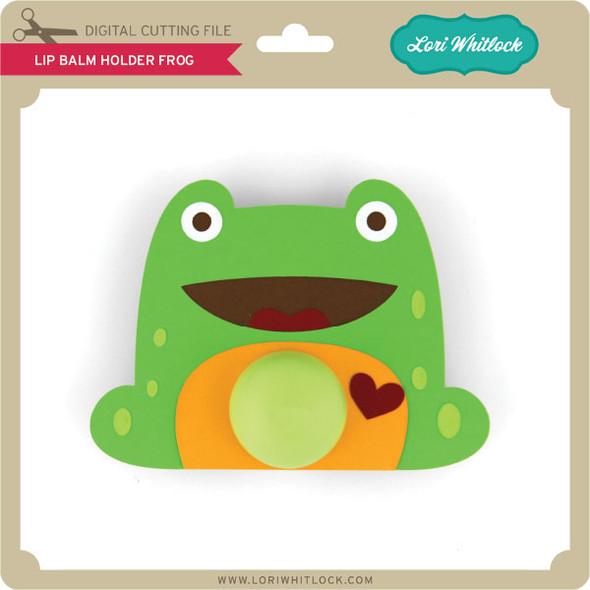 Lip Balm Holder Frog