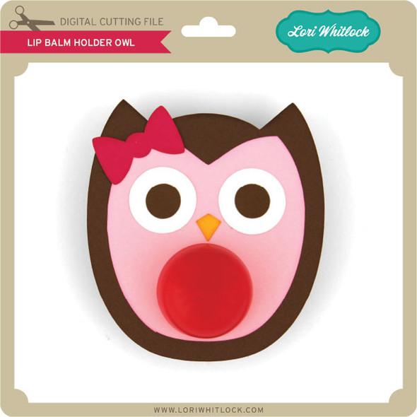 Lip Balm Holder Owl