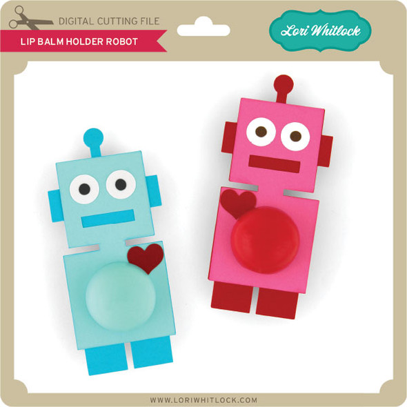 Lip Balm Holder Robot