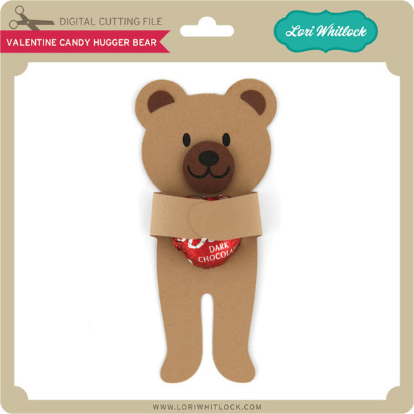 Valentine Candy Hugger Bear