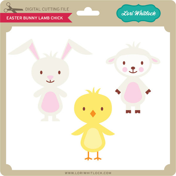 Easter Bunny Lamb Chick