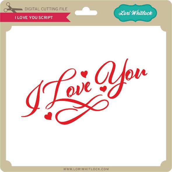 I Love You Script